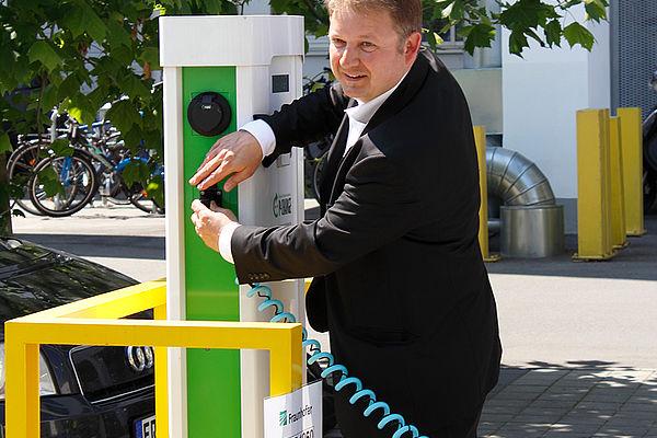 """Schaufenster Elektromobilität """"e-NUE"""""""