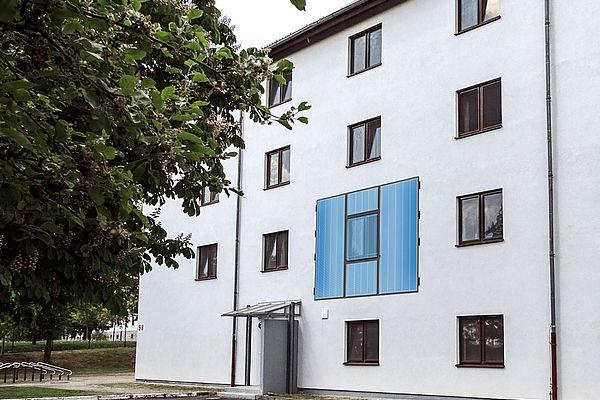 Entwicklung eines multifunktionalen Fassadenelements