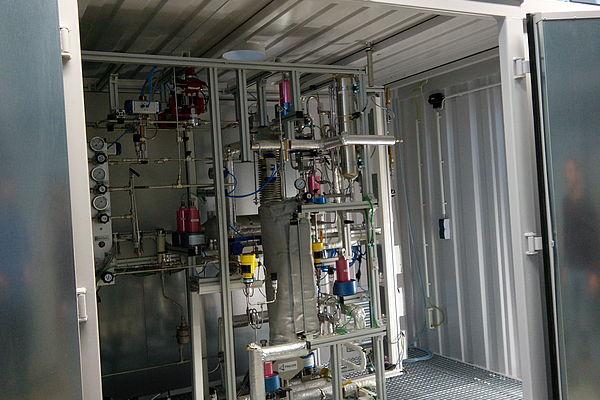 Effiziente, stationäre Wasserstoff- und Energiespeicher