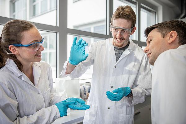 Nanofaser verstärkte Silica Aerogele für beste Dämmung