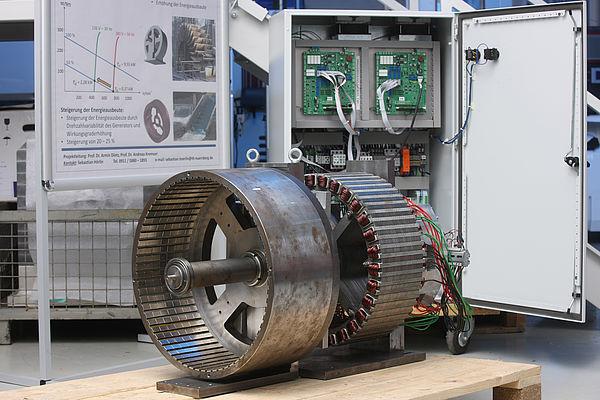 Permanenterregte Synchronmaschine - Kleinwasserkraftwerke