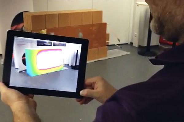 Augmented Reality zur Darstellung von Energieflüssen