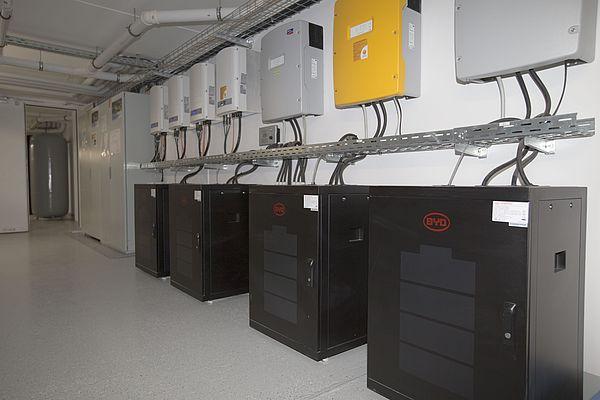 Optimierung von Photovoltaikanlagen und Energiespeichern