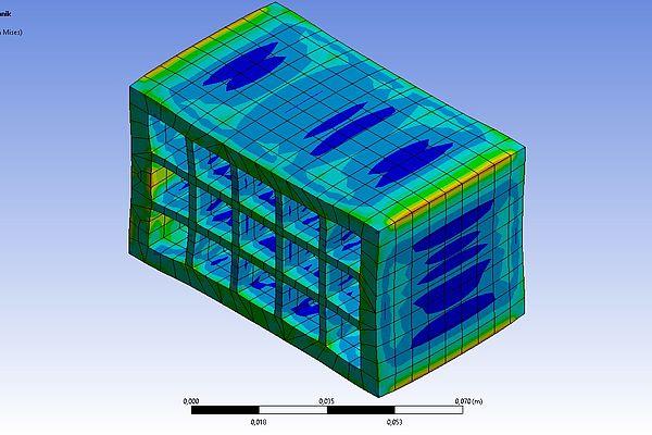 Optimierung der Struktur keramischer Baustoffe
