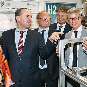 Wasserstoffforschung im Energie Campus Nürnberg