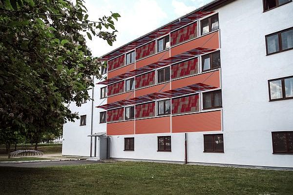 Projekt Fassade3 - multifunktionales Fassadenelement PV