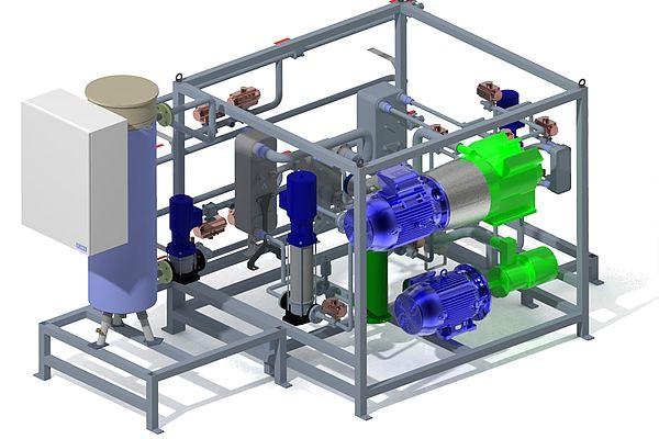 Reversible HP-ORC-Systeme für Niedertemperaturwärme