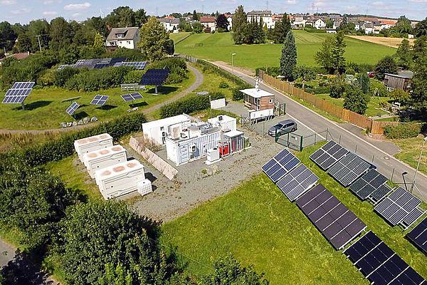 Projekt Smart Grid Solar - Arzberg als Modellregion