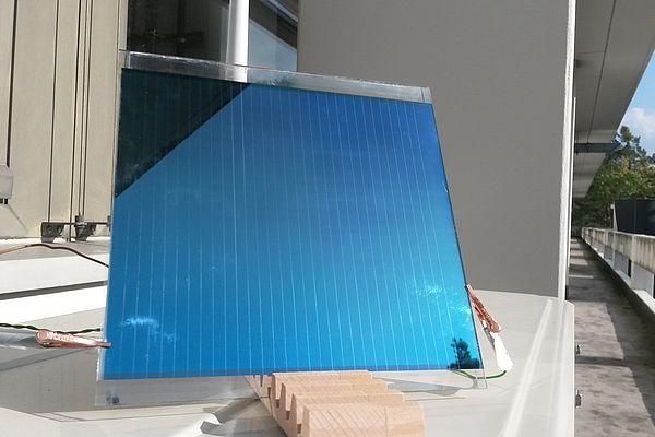 Gedruckte Organische Solarmodule